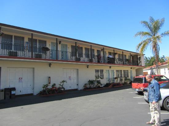 Old Town Inn : partie de l'hôtel où était notre queen economy room
