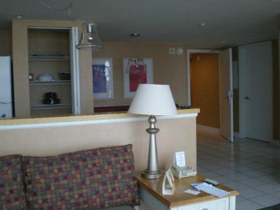 Boardwalk Resort Hotel and Villas: Walking in