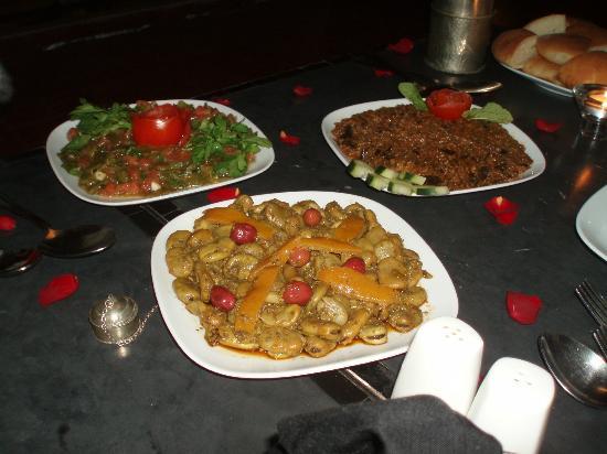 Riad Elizabeth: Morrocan banquet - the starter