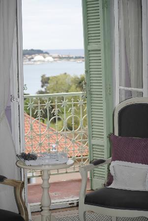 Villa Heliotropes : vue depuis la chambre