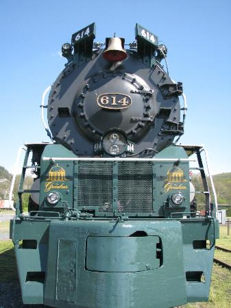 ‪‪C & O Railway Heritage Center‬: Steam Engine‬