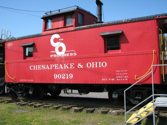 Clifton Forge, Virginie : dining car