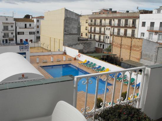 Hotel Santa Anna: Desde el balcon de la habitación