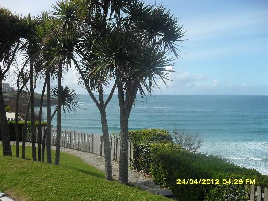 Tregella Guest House Newquay: Lovely view