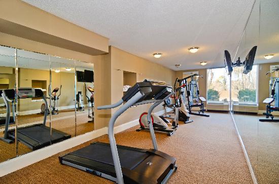 بست ويسترن جونسون سيتي هوتل آند كونفرانس سنتر: Fitness Room