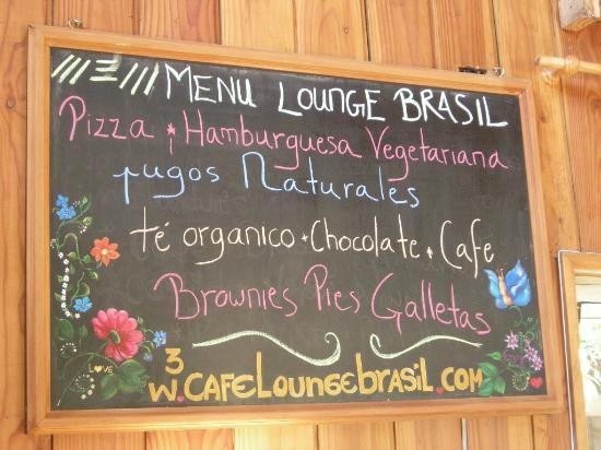 Lounge Brasil: El menú :D