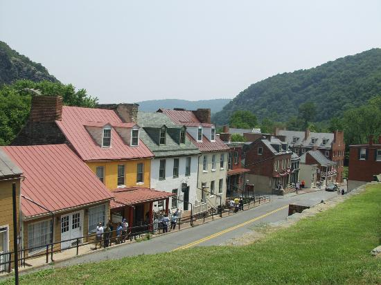 Village Leading Up To Camp Hill Picture Of Harpers Ferry - Trip advisor harpers ferry