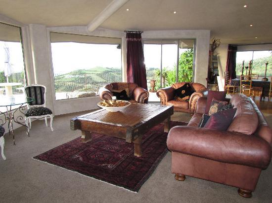 Delamore Lodge: Das Wohnzimmer
