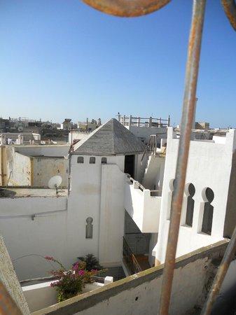 Dar Assenfou: vista dalla terrazza