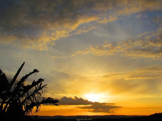 Delamore Lodge: Wunderschöne Sonnenuntergänge