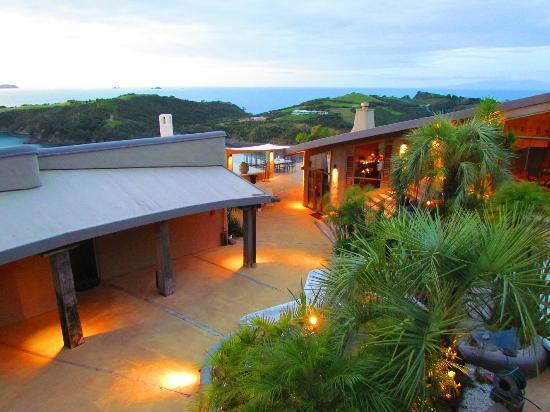Delamore Lodge: Wundervolle Aussicht in der Dämmerung