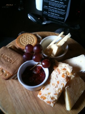 The Butchers Arms: the chutney was lovely !