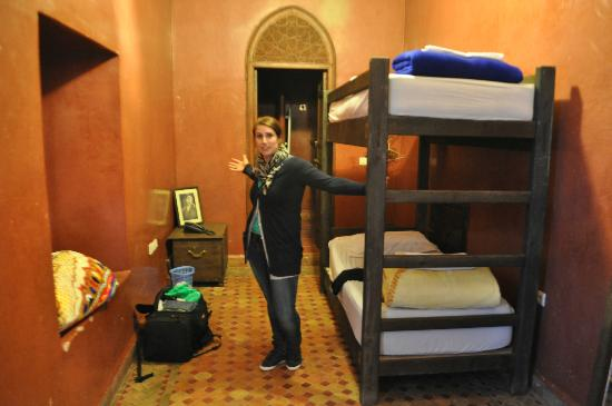Equity Point Marrakech Hostel: our room