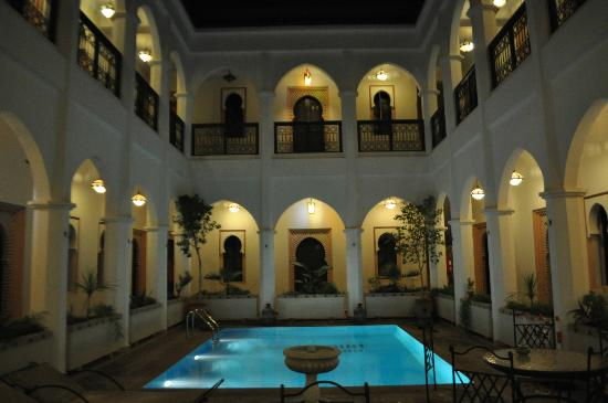 Equity Point Marrakech Hostel: around the pool