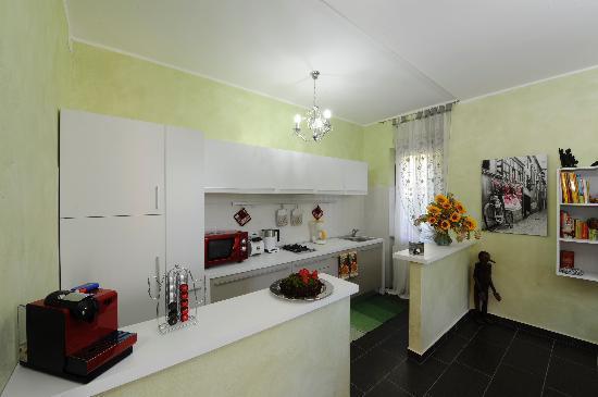 Dimora Del Riccio : zona colazione