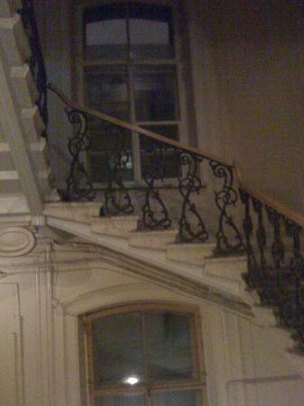 Casa Leto: The grand stair way.