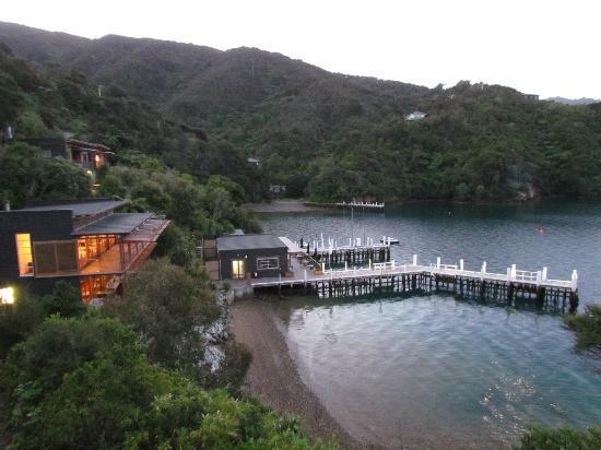 Bay of Many Coves: Unser toller Blick aus dem Zimmer auf die Anlage