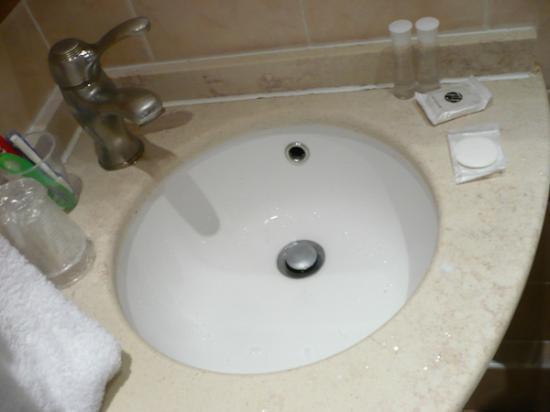 Eiffel Rive Gauche: lavabo