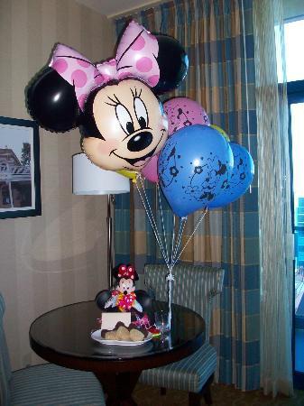 Disneyland Hotel: Balloon bouquet