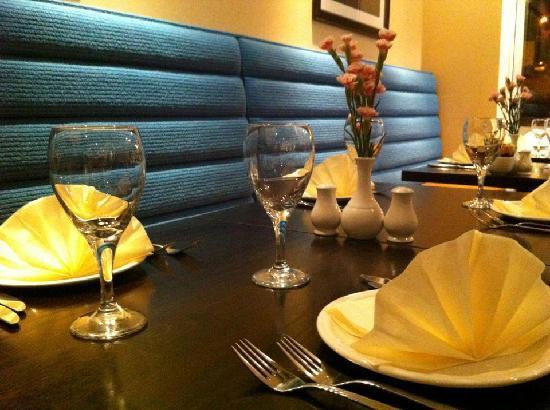 dining at pasha