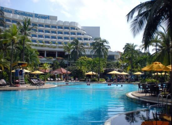 Shangri La S Rasa Sentosa Resort Spa Hotel Pool