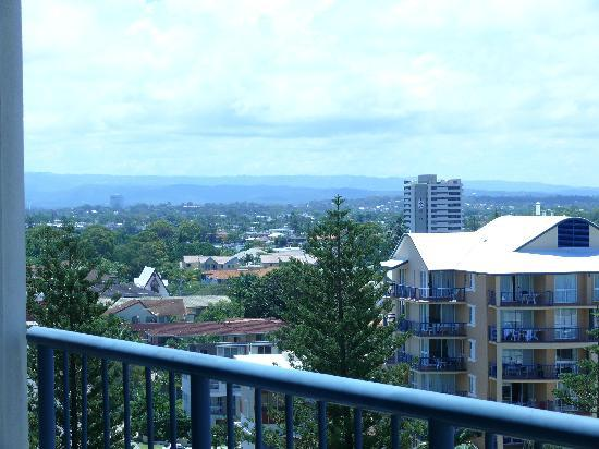 Oceana on Broadbeach: view to west