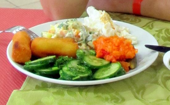Sumela Garden Hotel: Вкусный ужин