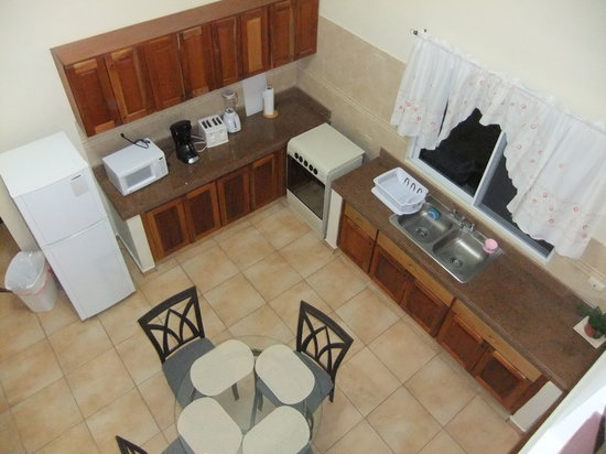 El Oasis Hotel & Restaurant: Main floor Kithen