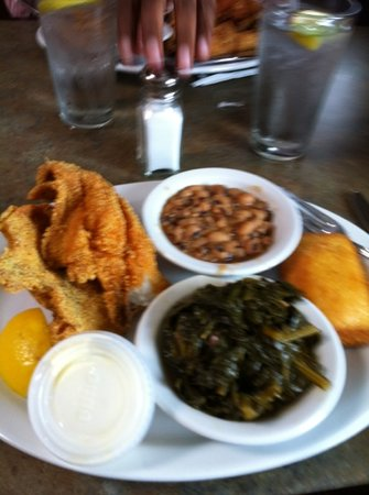 Chez Soul: Chez's Catfish, Collard Greens & Blackeye Peas