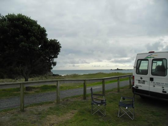 Otamure Bay (Whananaki) Campsite: Campsite Views at Whananaki DoC