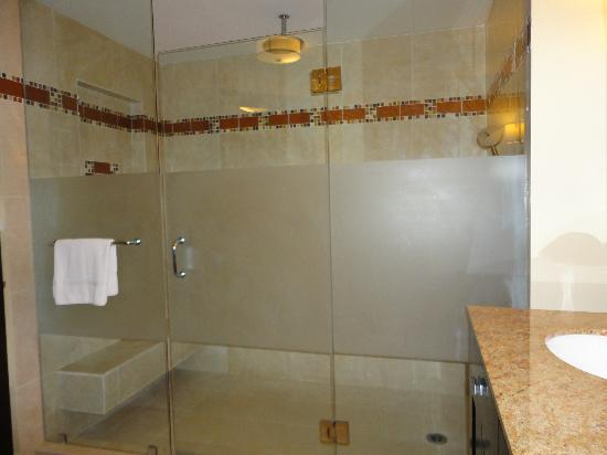 Ocean Two Resort & Residences: Huge shower