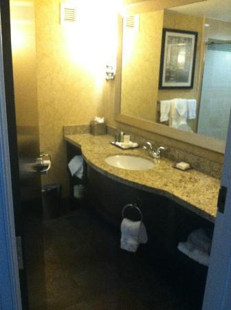 Hilton Richmond Hotel & Spa / Short Pump: Bathroom