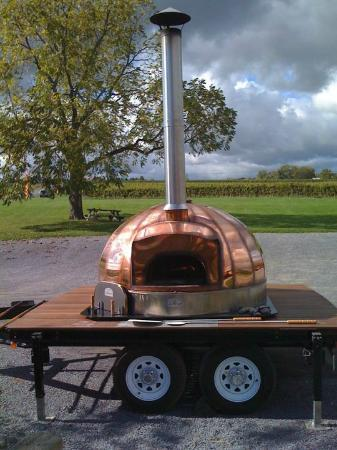 The Copper Oven: the oven itself
