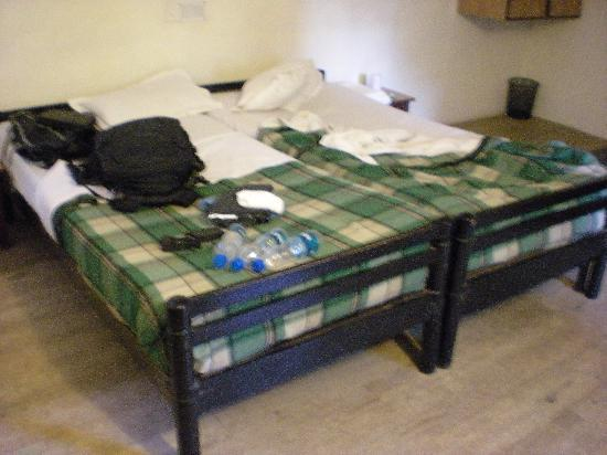 Hotel Kailas: beds