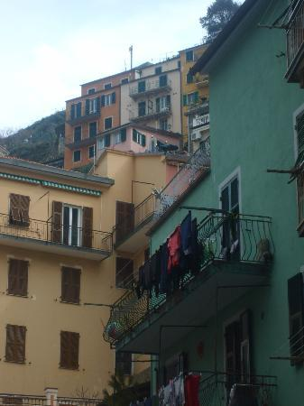Locanda Giuliana : View from main street back up to the room