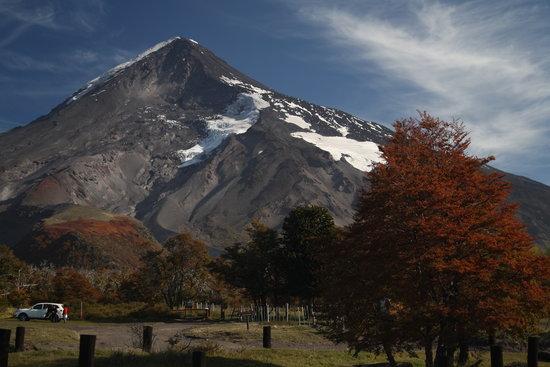 San Martín de los Andes, Argentina: Volcan Lanin, Paso Mamuil Malal
