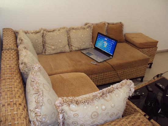 Villa Residence Sejours & Affaires : Salon
