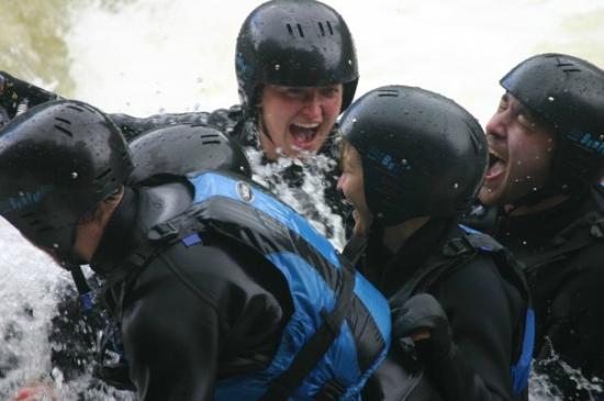 Freespirits Outdoor Company: Rafting on the River Tay, Scotland, Freespirits