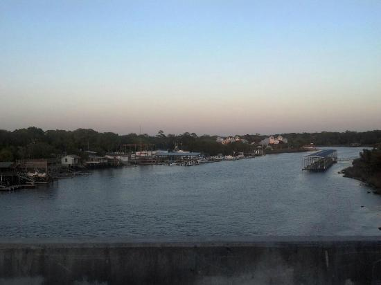 Steinhatchee Landing Resort: From the bridge.
