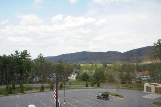 Hampton Inn & Suites Lake George: View from our room