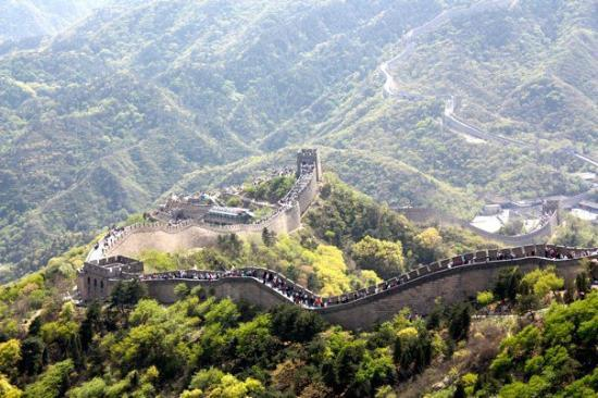 Yanqing Badaling Incomplete Great Wall: Beautiful
