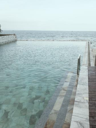The Rock Hua Hin Resort: Sea View from the Pool