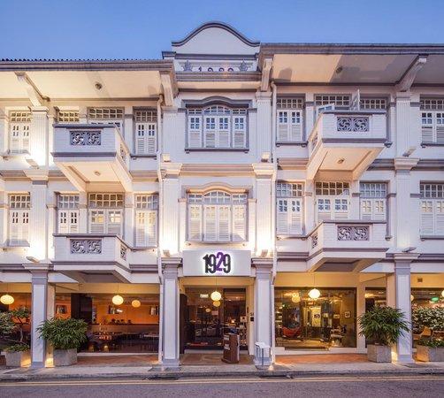 Hotel 1929: Facade