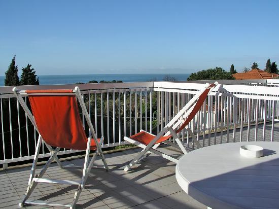Terrazzo sul mare - Picture of Hotel Ristorante Cristallo ...