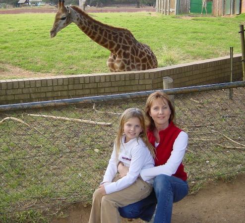 Johannesburg Zoo: Giraffe's up close & personal