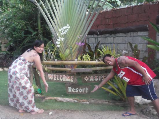 Oasis Resort: hotel grounds