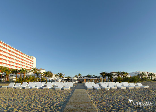 Playa d'en Bossa, Spain: Ushuaïa Beach Club