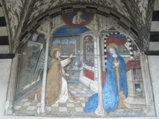 Basilica di Santa Maria di Castello: The Annunciation by Ravensburg