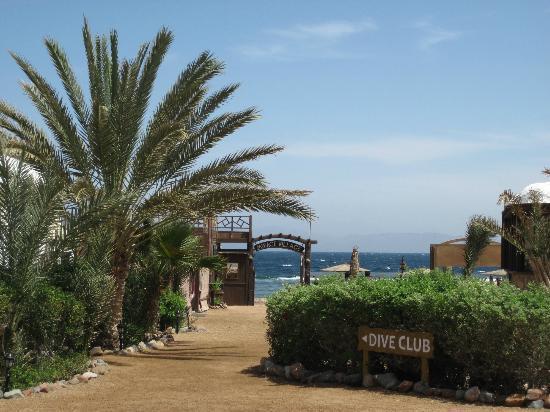 The Mirage Village Hotel: Garden square