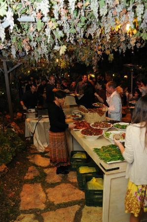 Tur Sinai Organic Farm Resort: Wedding Dinner